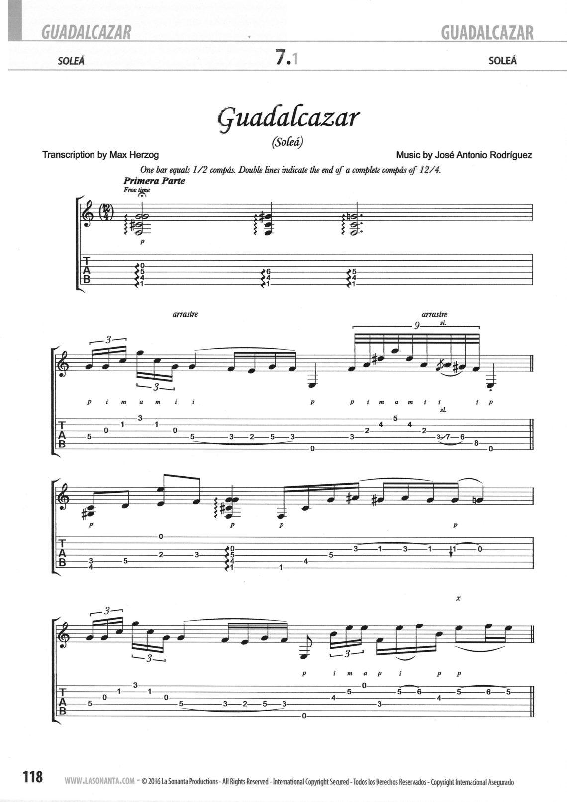 José Antonio Rodríguez – Guitarra Flamenca de Concierto Book & DVD